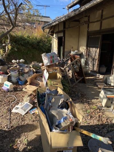 納屋のゴミ回収!【粗大ゴミ】 やくだち隊