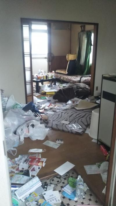 アパート内の不用品、全撤去!|やくだち隊