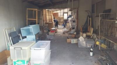 車庫の中の不用品、全撤去!|やくだち隊